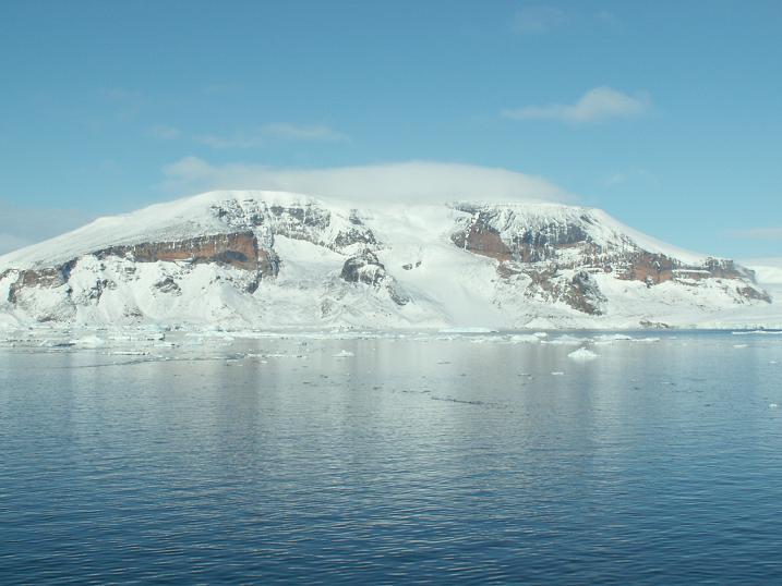 ההר הארקטי הראשון ביבשת, אנטרקטיקה