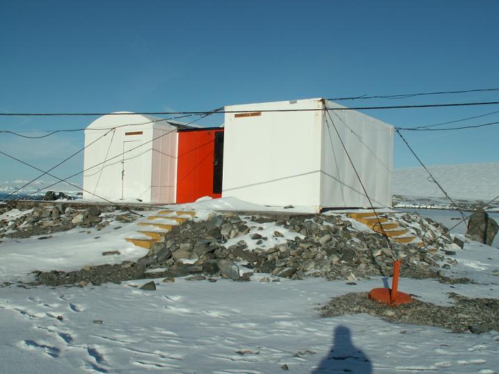 המקרר בתחנת המחקר