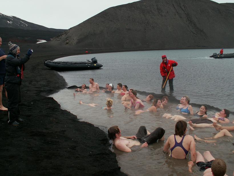 ספק מעיין חם, ספק אוקיינוס קפוא, אנטארקטיקה
