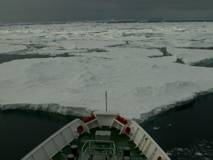 ניווט קרחונים, אנטרקטיקה