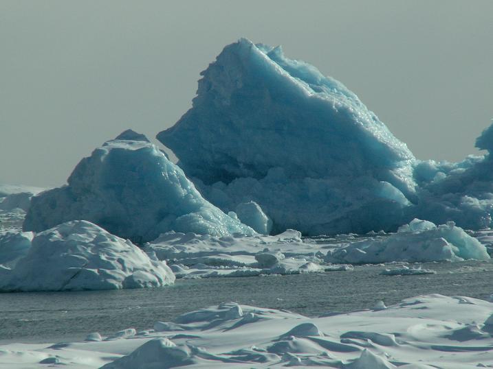 עוד קרחון מזדקן, אנטארקטיקה