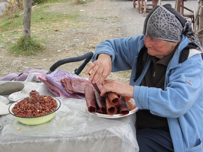 ממתק קליפות ענבים, קחתי, גיאורגיה