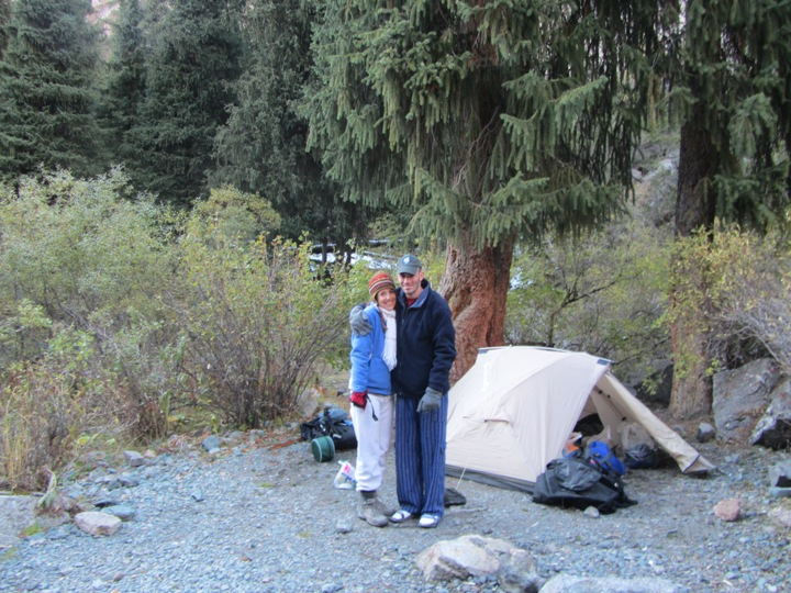 לילה ראשון באוהל..