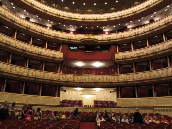 בית האופרה, מבפנים