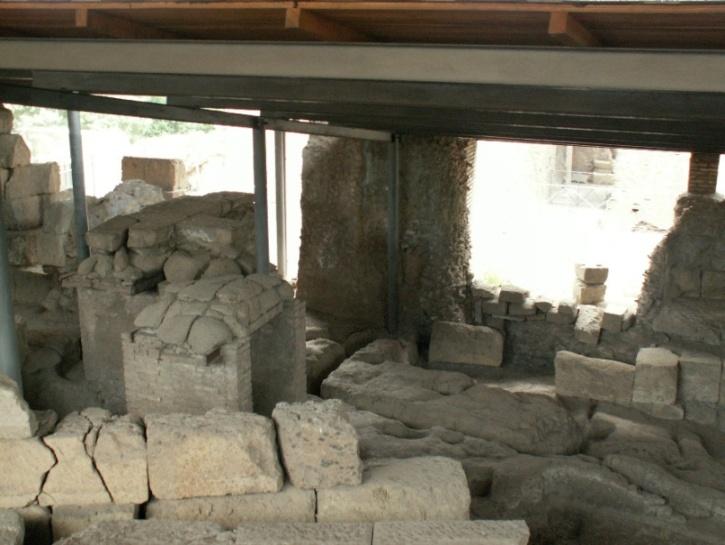 ביתו של רומולוס (מקימה של רומא)