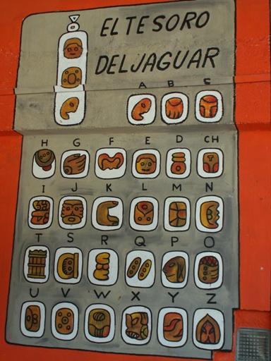 מילון לכתב המאיה