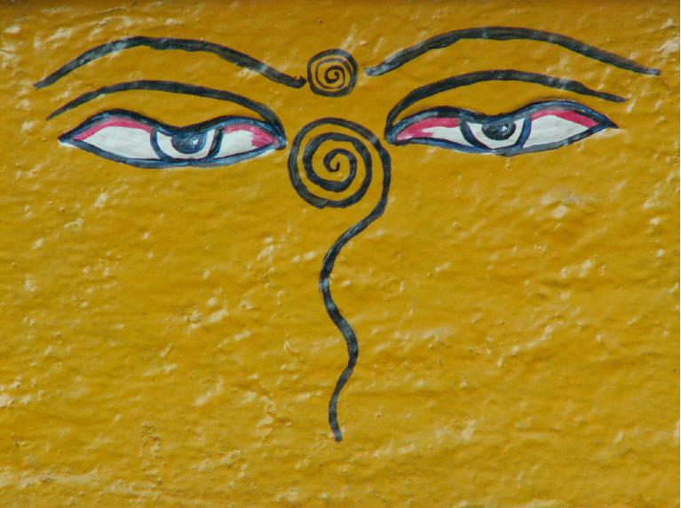 עיני בודהה. נגד עין הרע