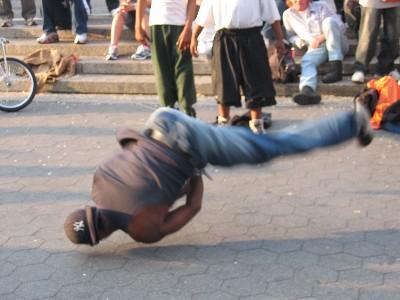 ריקוד ברייקדאנס ברחוב