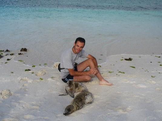 אני ואריה ים טיפוסי (אחד מ - 15,000 שקיימים פה)