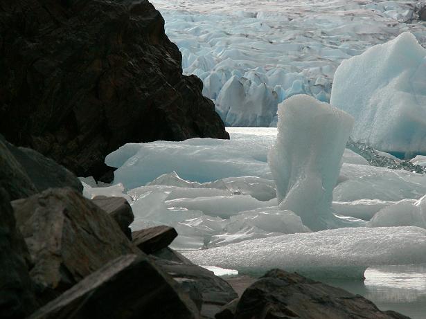 הקרחון המתנפץ של הטורוסים