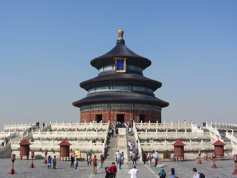 מקדש השמיים, ביגינג, סין