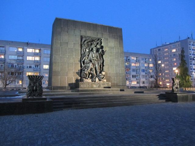 אנדרטת רפפורט, וורשה, פולין