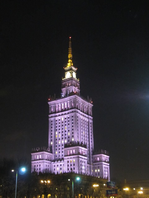 השמוק של סטלין, וורשה, פולין