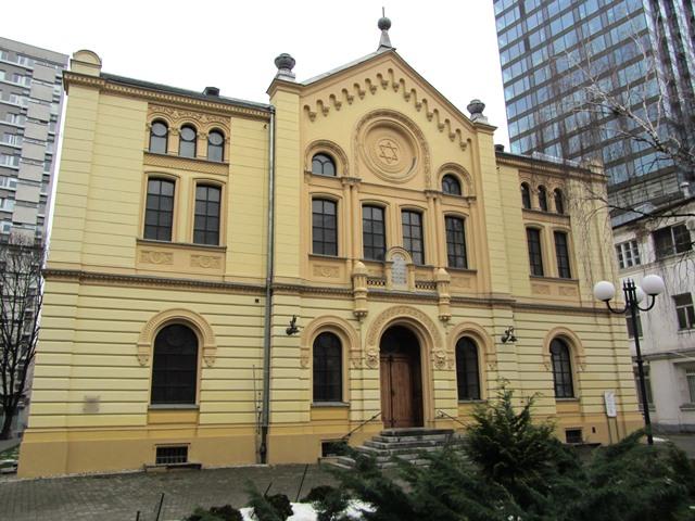 בית הכנסת נוז'יק, וורשה, פולין