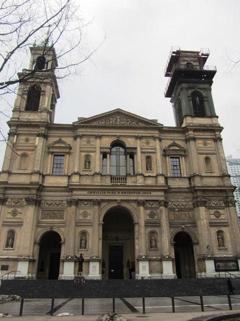 כנסיית המומרים, וורשה, פולין