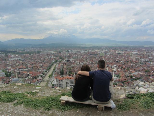 תצפית מהמבצר, פריזרן, קוסובו