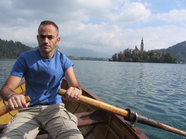 שטים באגם בלד, סלובניה