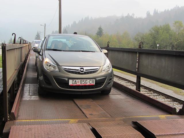 רכבת הרכבים בוהיני, סלובניה