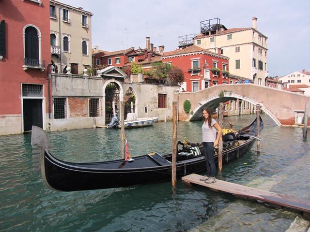גונדולה, וונציה, איטליה