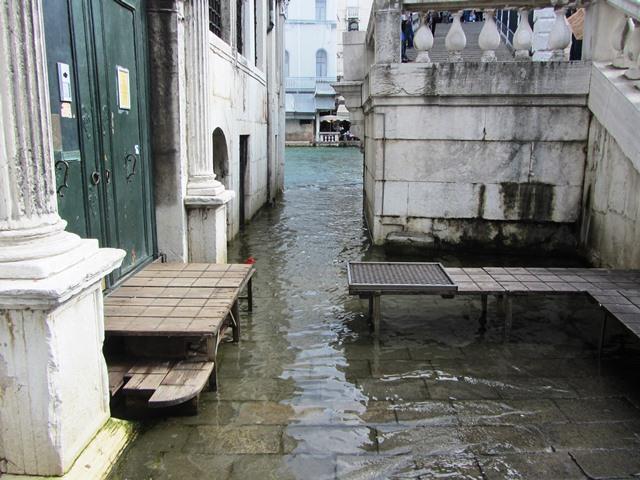 וונציה שוקעת, איטליה