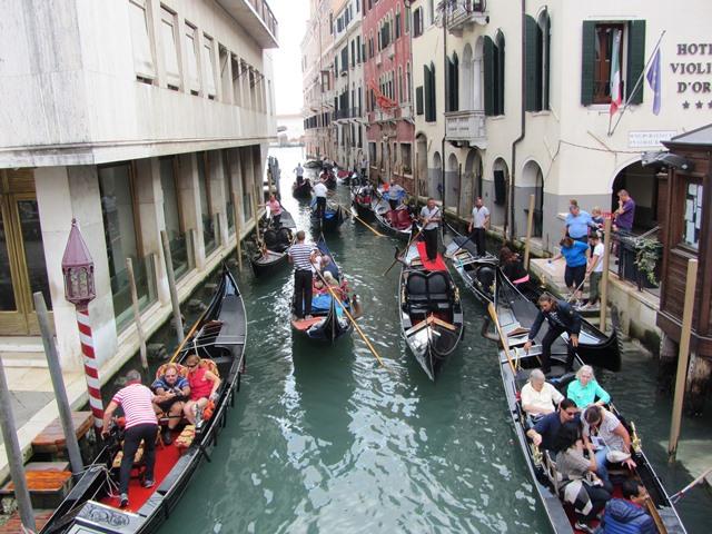 פקק תנועה, וונציה, איטליה