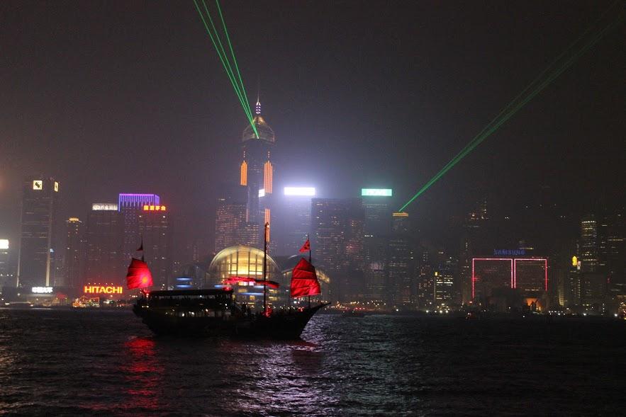 מופע האורות, הונג קונג