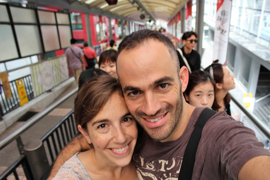 מדרגות נעות, הונג קונג