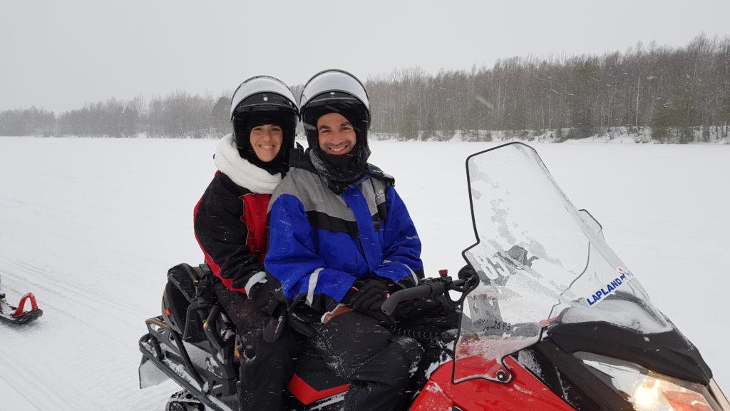 ספארי מזחלות שלג, לפלנד