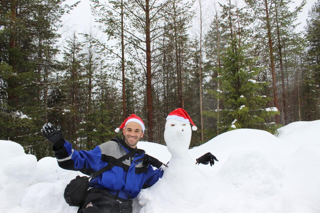איש שלג, לפלנד